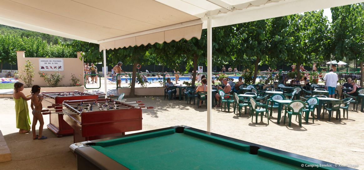 Terrace with snookertafel