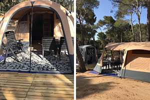 Rent a tunneltent in Spain